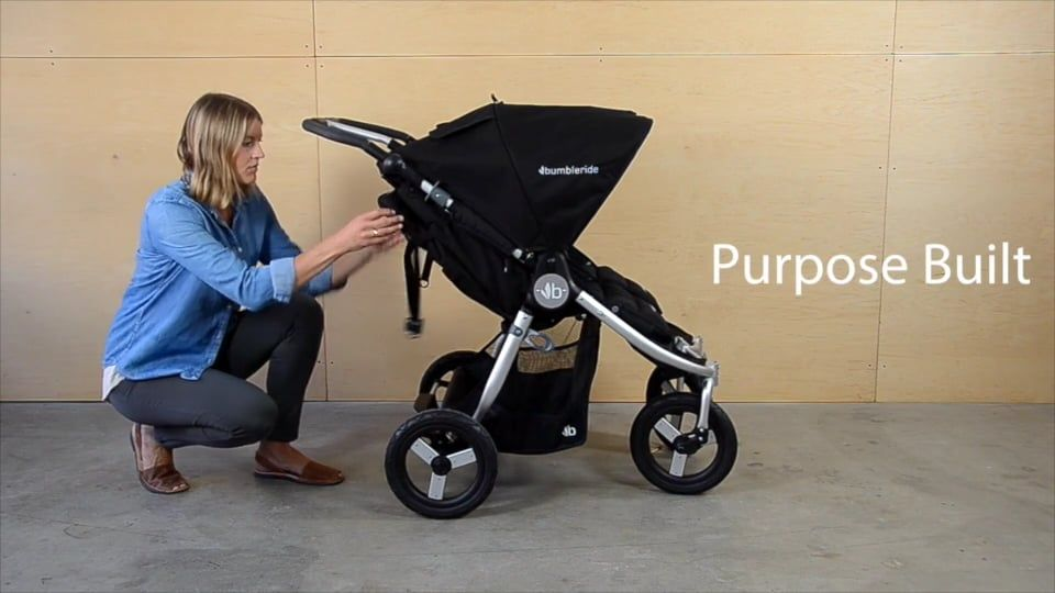 Bumbleride Indie Twin Stroller Features Mobile (With