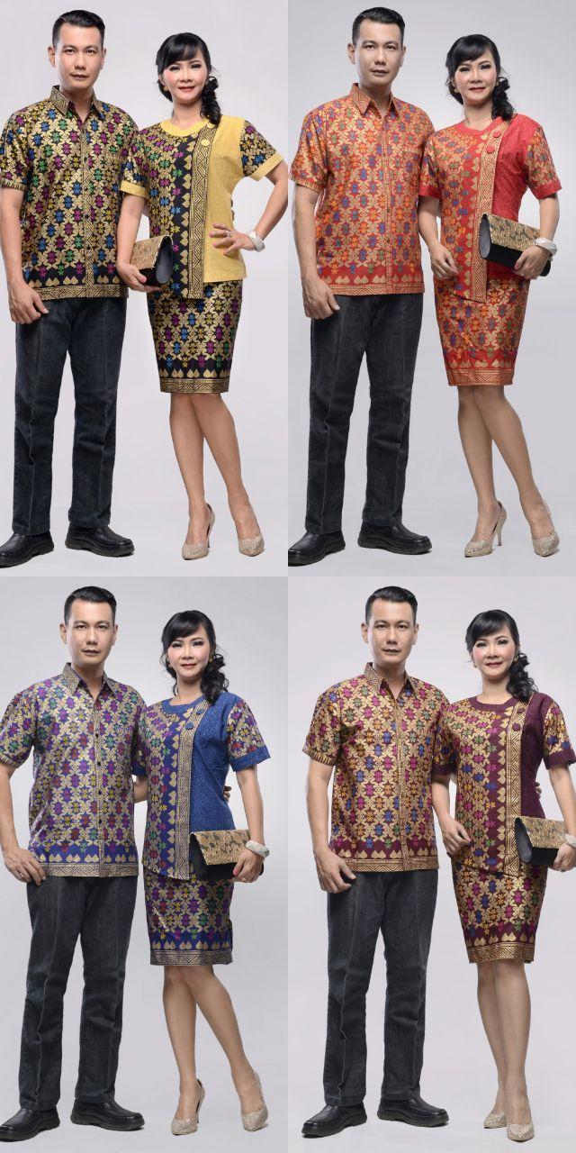 Baju Batik Couple Takashimaya Prodo 2018 Modern Pinterest Couples Dan