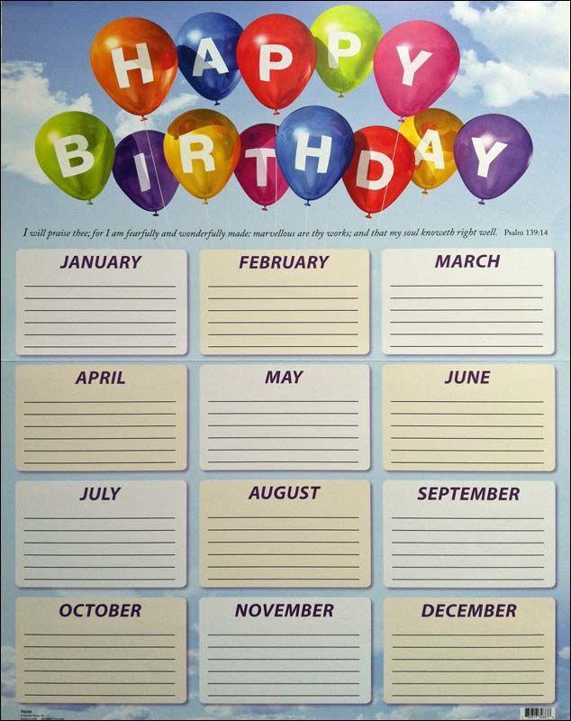 Office+Birthday+List Happy birthday list Birthday list, Birthday