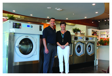 Colleen Unema Owner Of Electrolux Professional Equipped Q Laundry