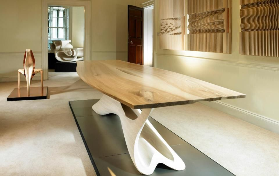 Oliver Sears Gallery Dublin Serious Design Modern Art Deco Table Dining Table