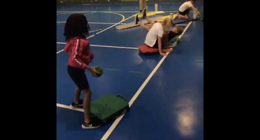 WALK THE PLANK/SINK THE SHIP! physed Walking the plank