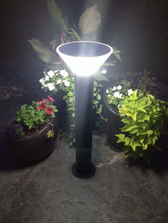15 Extraordinary Garden Lamp Ideas That Will Maximize Your Beautiful Garden At Night Garden Lamps Bollard Lighting Solar Lights Garden