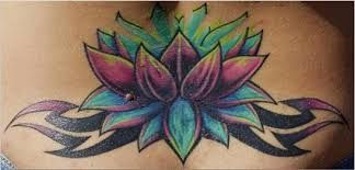 Image Result For Egyptian Blue Lotus Tattoo Blue Flower Tattoos Flower Tattoo Cover Up Tattoos