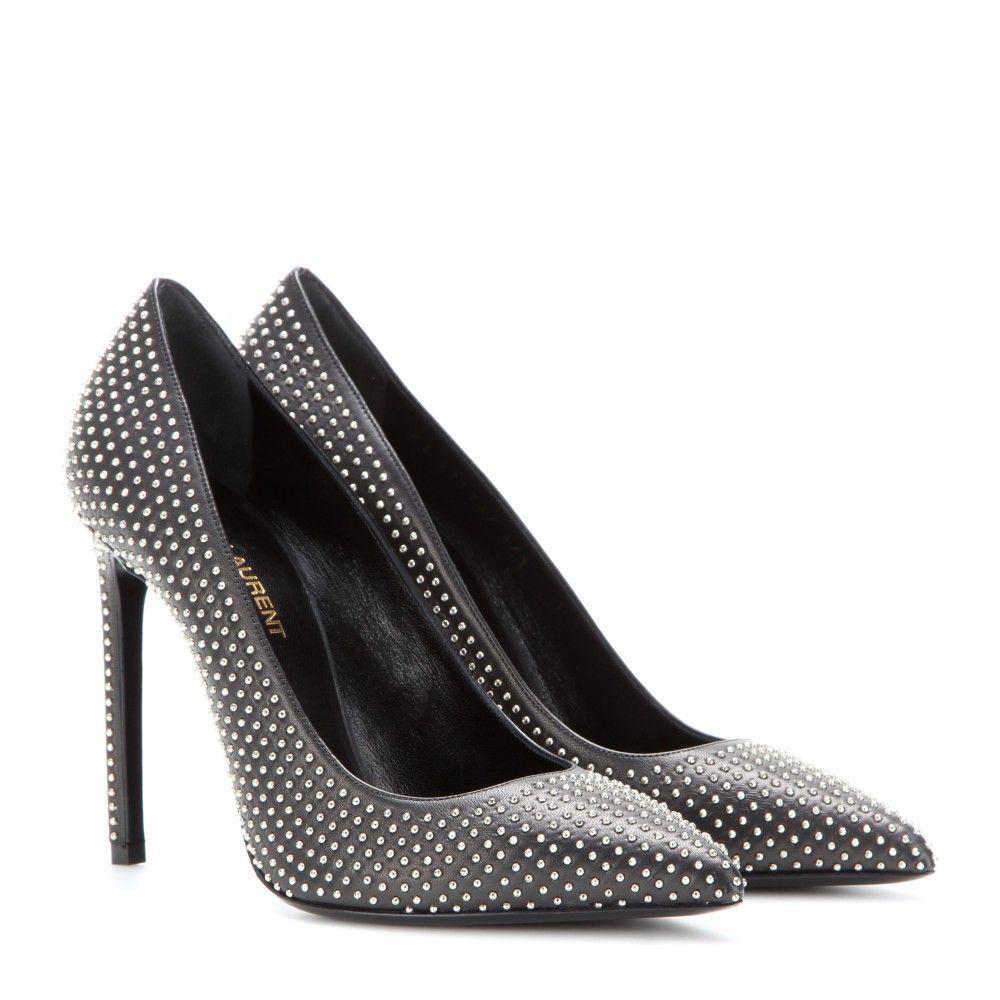556fff2218fb0f mytheresa.com - Studded leather pumps - high heel - pumps - shoes - Luxury  Fashion for Women   Designer clothing