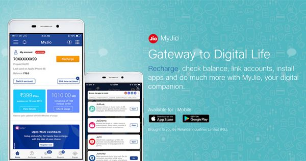 MyJio APK 6.0.09 for Android Android Recharge & Pay