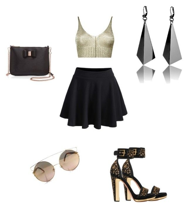 """Swag!😂😂"" by piccolanamaria ❤ liked on Polyvore featuring Boohoo, Alexander McQueen and Ted Baker"