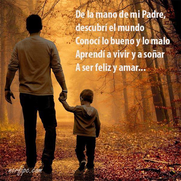 Para Mi Padre El Mejor Padre Del Mundo Mensajes De Gratitud Para