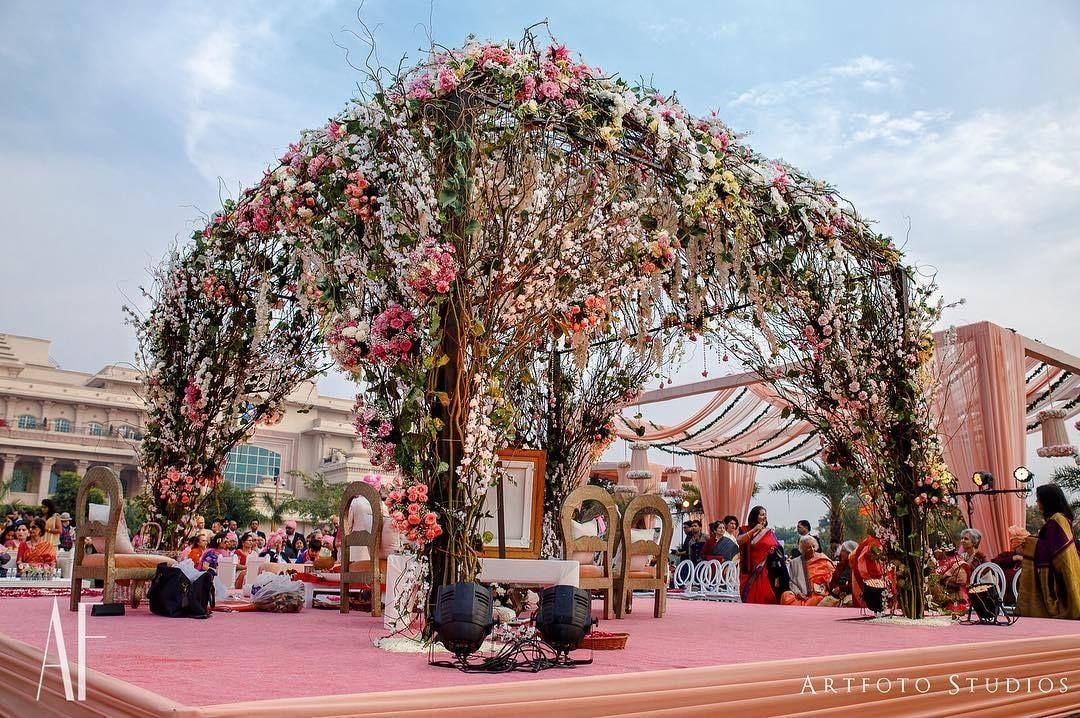 Rustic mandap inspirations... wedding indianweddings
