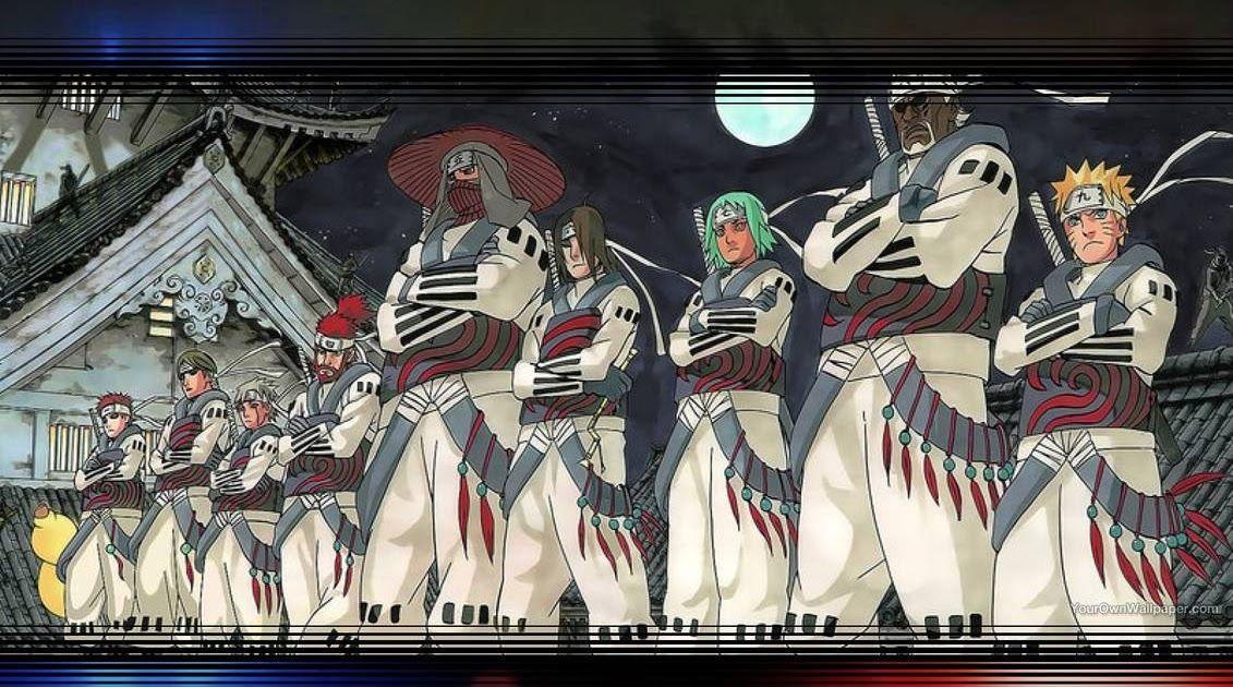 Wallpaper Naruto Jinchuuriki