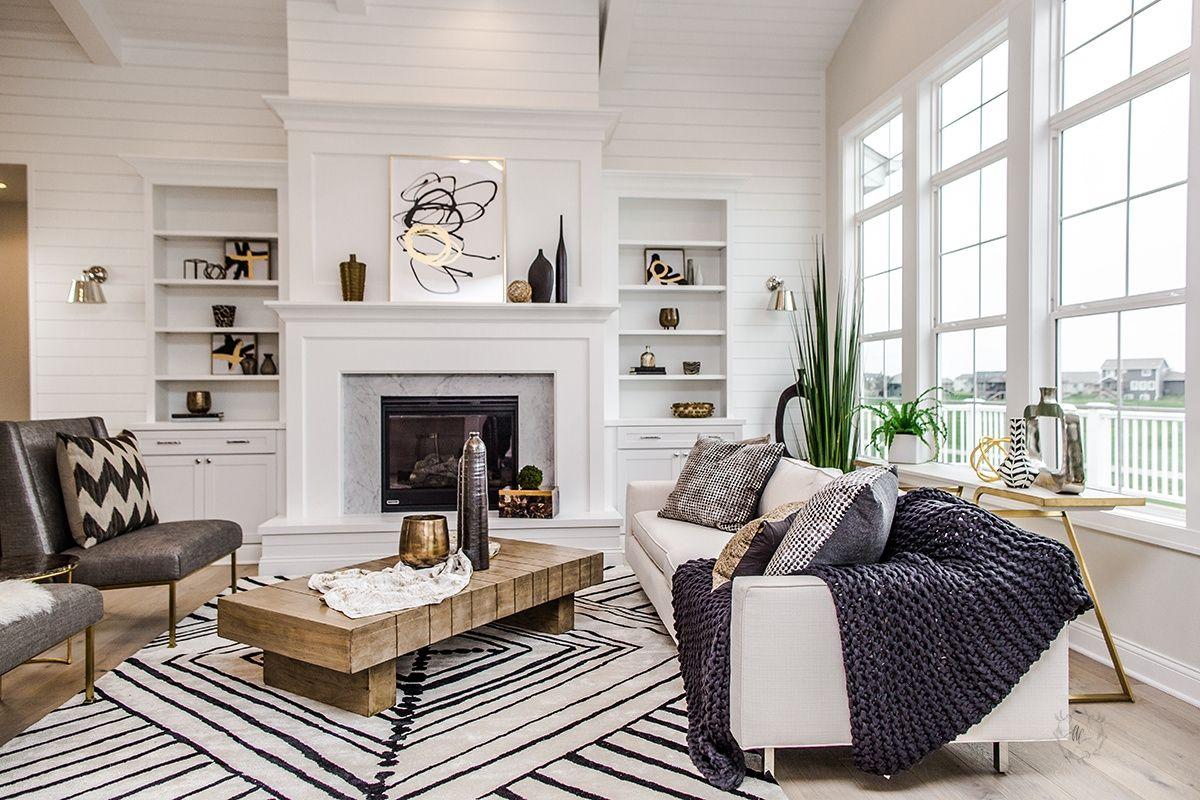 Living room shelving ideas | Sandes living rooms | Pinterest ...