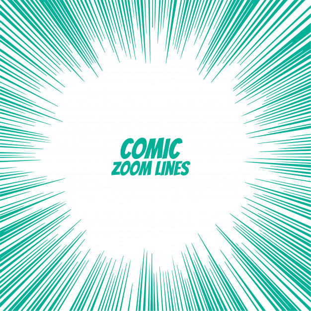 Download Comic Speed Zoom Lines Background for free in