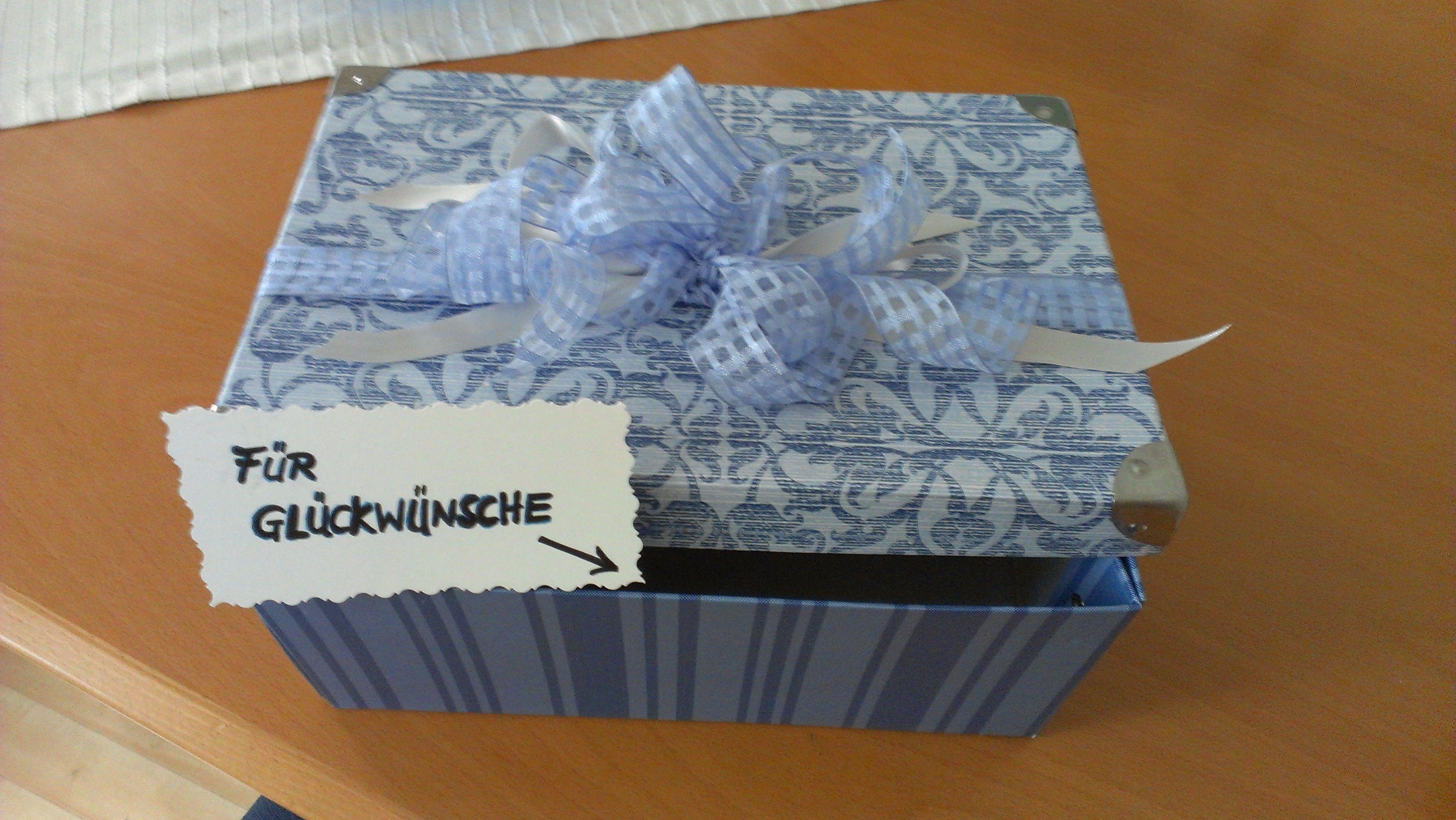 Box Fur Kleine Hochzeitsgeschenke Und Gluckwunschkarten So Geht
