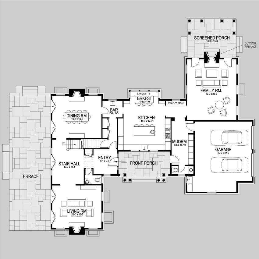 Shingle Style Home Plans Z1no First Bungalow Floor Plans Architectural Floor Plans New House Plans