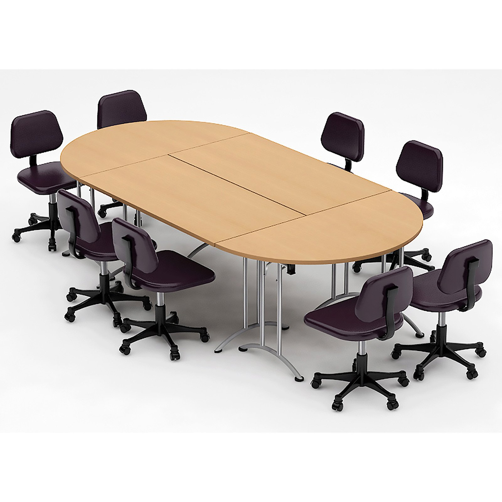 HARDY CONFERENCE TABLES Commercial Oval Seminar Table  Conference