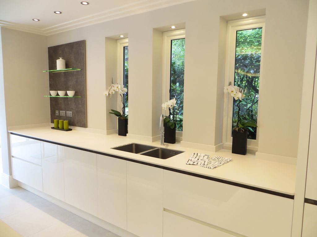 Contemporary Kitchen With High Ceiling European Cabinets One Beauteous Kitchen Designs With High Ceilings Design Decoration