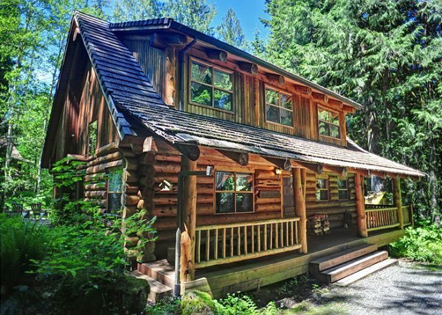 Bear Den Log Cabin Is A Welches Cabin Bungalow Vacation