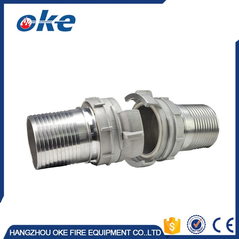 Okefire Aluminum French Hose Coupling Fire Fighting Fitting Firefighter Fire Fittings