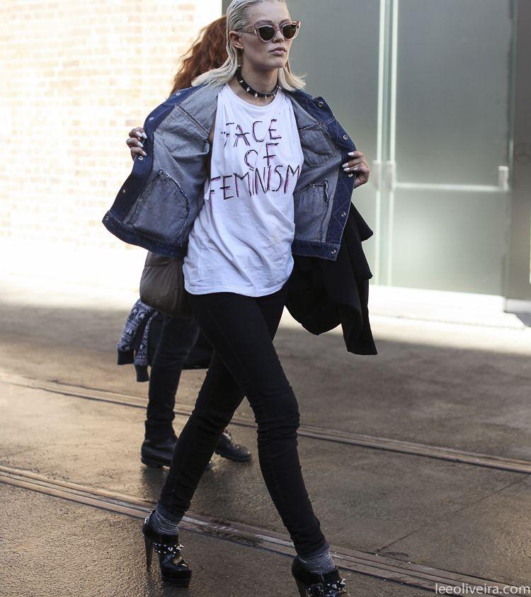 statement tee. Sydney. #LeeOliveira
