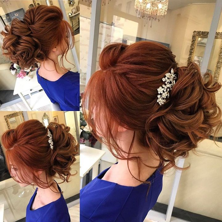 Messy loose updo - Wedding Hairstyle Ideas For the Bride | fabmood.com #weddinghair #updo #upstyles #hairstyles #weddingupdo #bridalhair