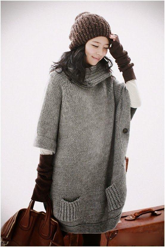 Winter Korean Clothing For Teens 2014 | Hijab fashion | Pinterest ...