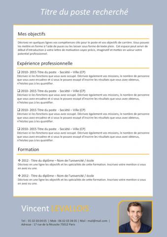 200 Exemples De Cv Gratuits A Telecharger Creer Un Cv Resume