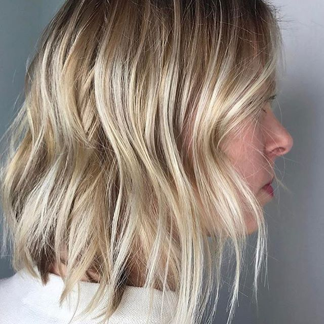 Shattered Blonde Color By Ohsowavybaby Hair Hairenvy Hairstyles Haircolor B Haircuts For Medium Length Hair Hair Styles Cornrows Braids For Black Women