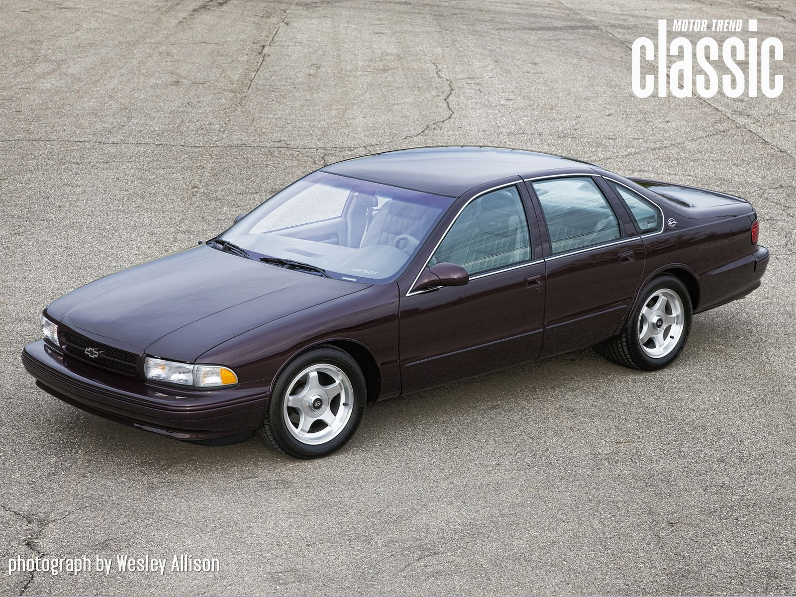 1996 chevy impala ss photographed by wesley allison