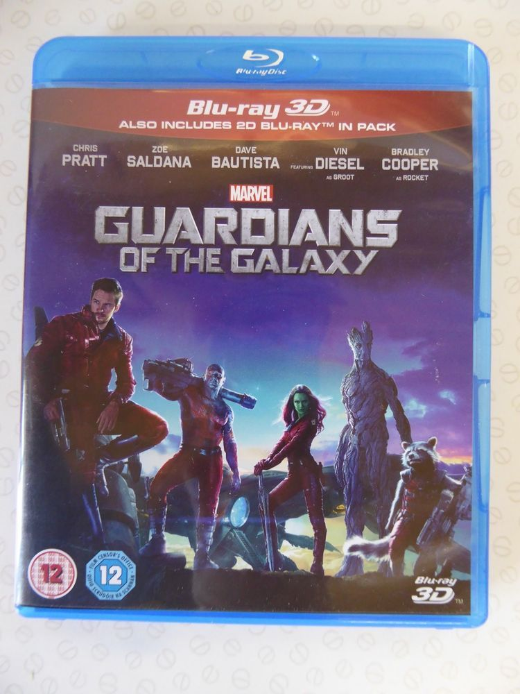 Marvel S Guardians Of The Galaxy 3d And 2d Blu Ray Twin Pack