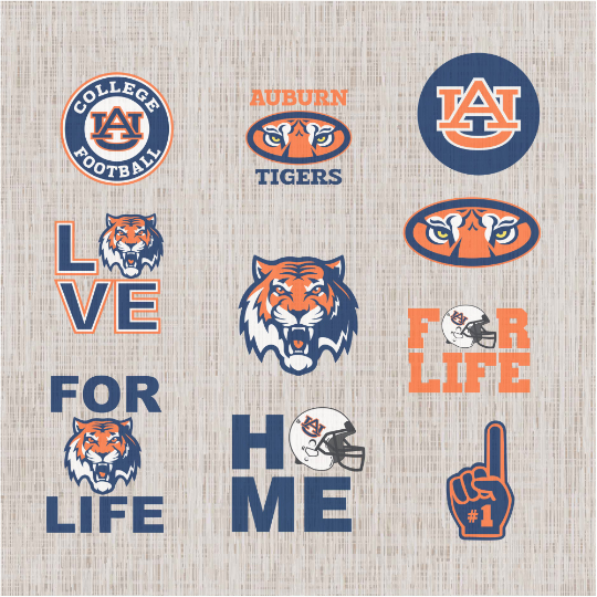 Auburn Tigers Svg Auburn Tigers Auburn Svg Auburn Football Football Svg Football Logo Svg New Year Svg By Svg Gift For You 3 50 Usd Trong 2020
