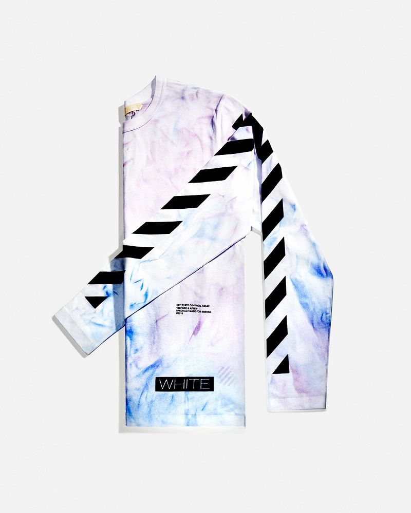 Ssense X Off White C O Virgil Abloh Spring 2015 Capsule Collection Off White Activewear Inspiration Tie Dye T Shirts