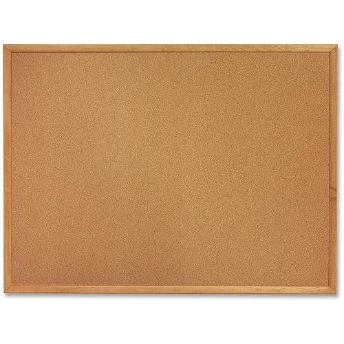 Sparco Cork Bulletin Board 18 X 24 Oak Wood Frame Walmart Com Cork Bulletin Boards Wood Frame Framed Cork Board