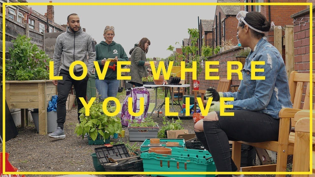 Transform your alleyway, #LoveWhereYouLive I Hubbub Campaigns - YouTube