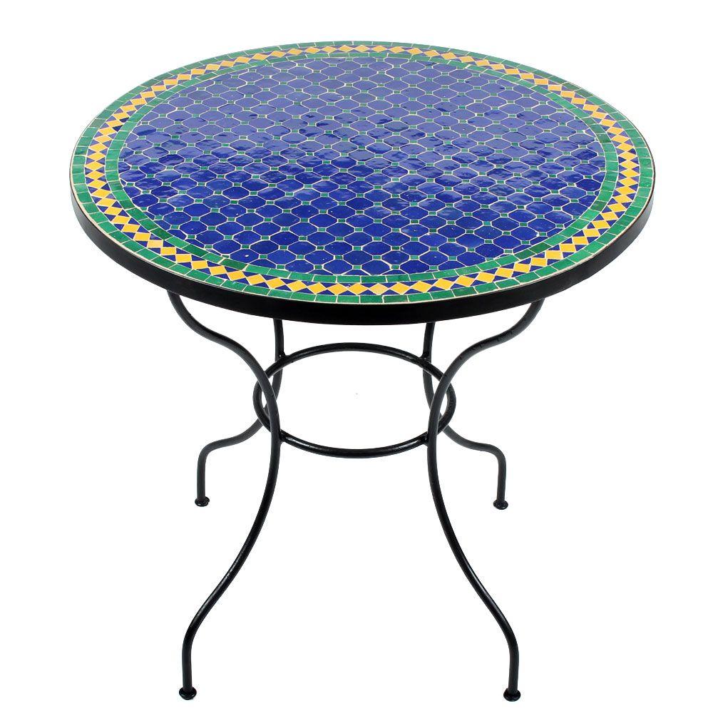 traumhafter kleiner gartentisch fareo mosaiktische 80cm pinterest. Black Bedroom Furniture Sets. Home Design Ideas
