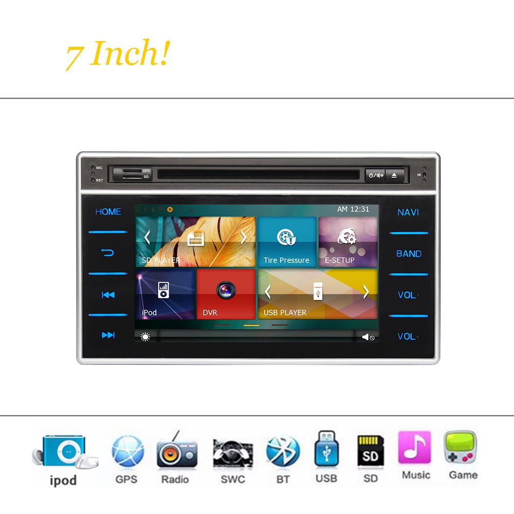 Car DVD Player Wince System For Toyota Hilux 2015 2016 Car