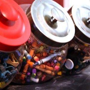 de 20 idéias criativas para organizar os brinquedos da criançada  Mamãe Plugada Mais de 20 idéias criativas para organizar os brinquedos da cr...