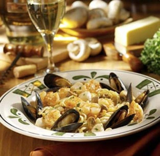 The Seafood Portofino dish at Olive Garden is selling for $15.75.     Ingredients for Portofino Sauce 1/2 cup butter 1/2 cup yellow onion,...