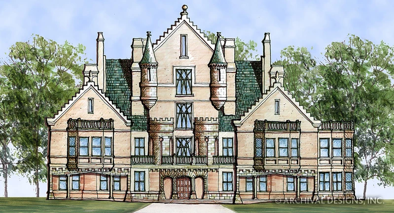 Best Castle Of Ourem House Plan In 2020 Balmoral House 400 x 300