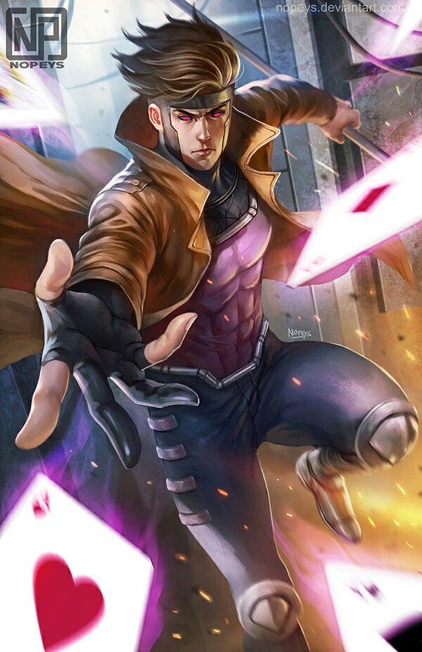 Gambit (X-Men) By Nope...