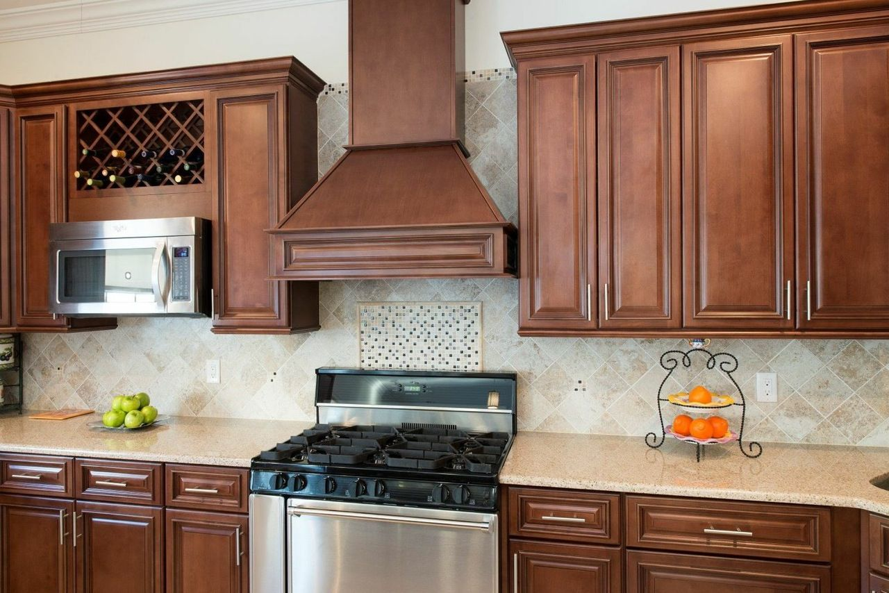 Best Signature Chocolate Pre Assembled Kitchen Cabinets 400 x 300