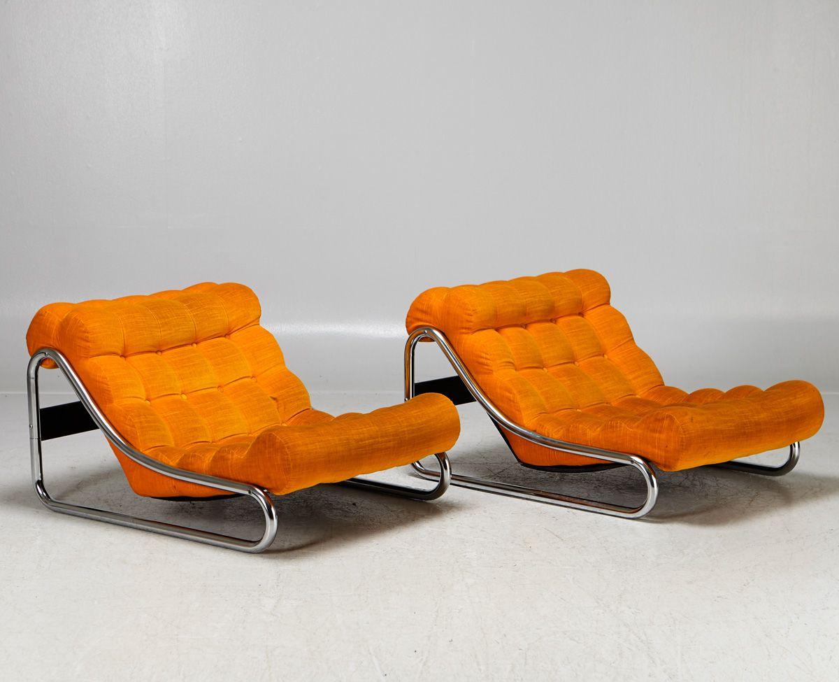 Auktionstipset Gillis Lundgren, Ikea, fåtöljer 'Impala