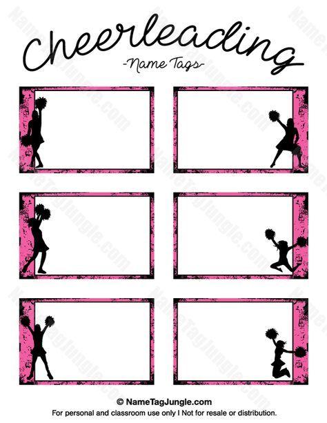image about Cheerleading Templates Printable named Pin via Rachael Craddock upon cheerleading Cheerleading