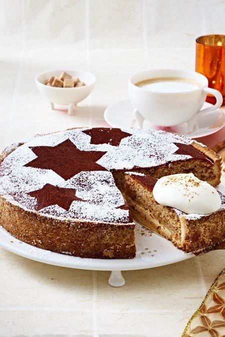Zimtkuchen mit Mandeln #schokokuchen