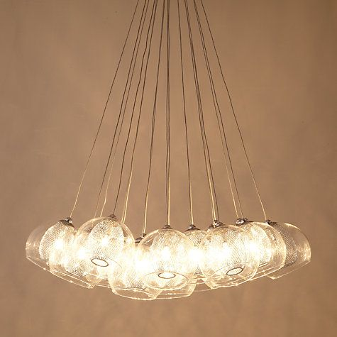 Buy john lewis knightley mesh parachute cluster ceiling light online buy john lewis knightley mesh parachute cluster ceiling light online at johnlewis aloadofball Image collections