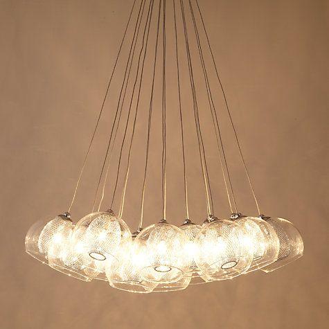 Buy john lewis knightley mesh parachute cluster ceiling light online buy john lewis knightley mesh parachute cluster ceiling light online at johnlewis aloadofball Images