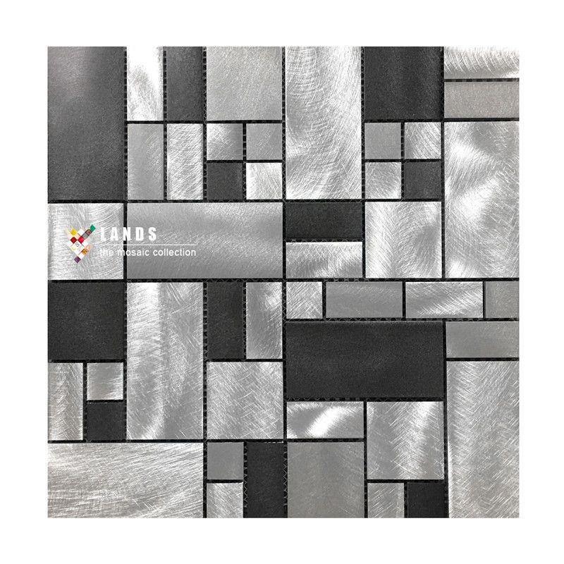 Decorative Wall Art Tiles Black Metal Kitchen Backsplash Mosaic Wall Tilesinterior Wall