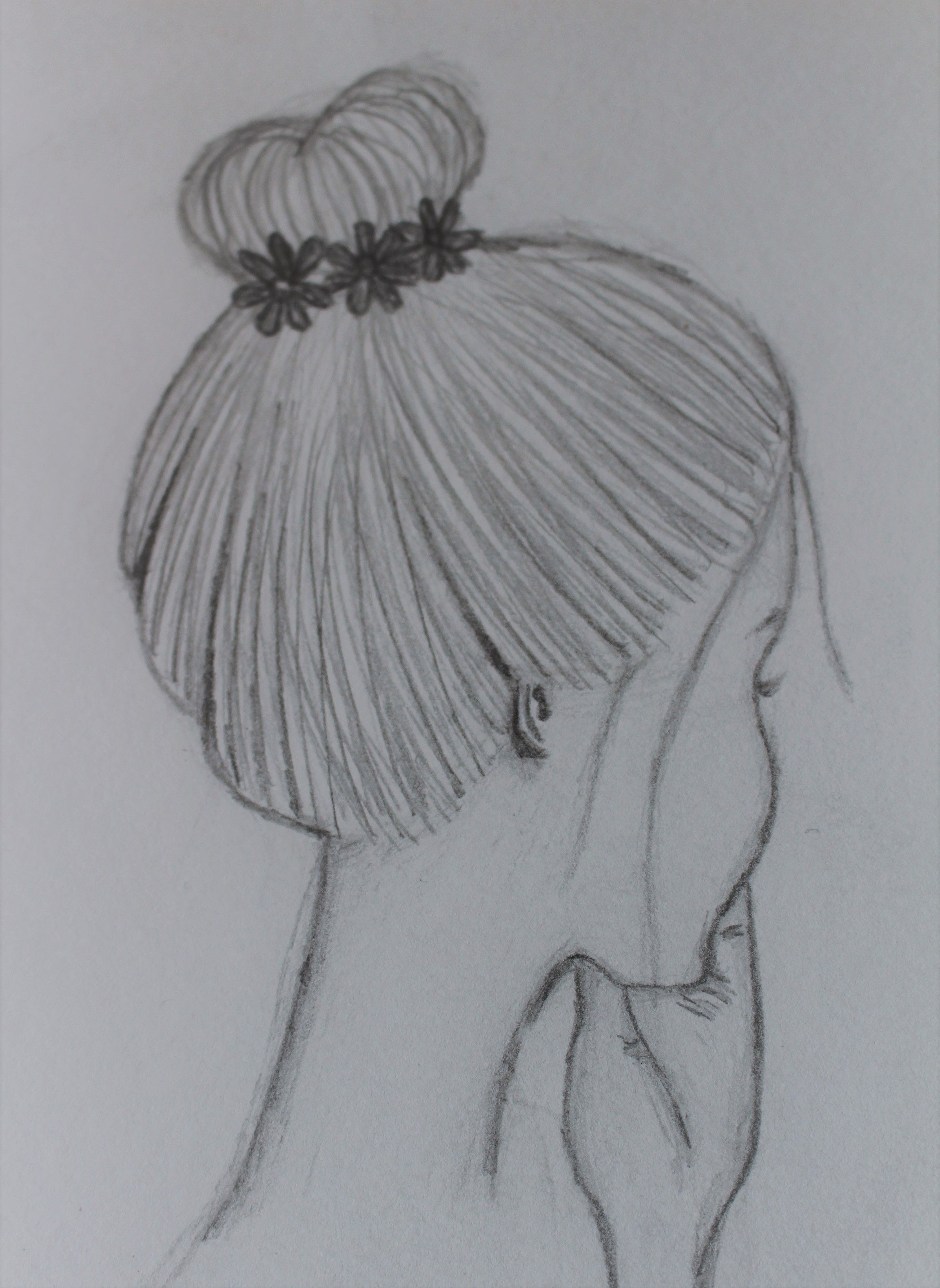 Dutt Frisur Zeichnen