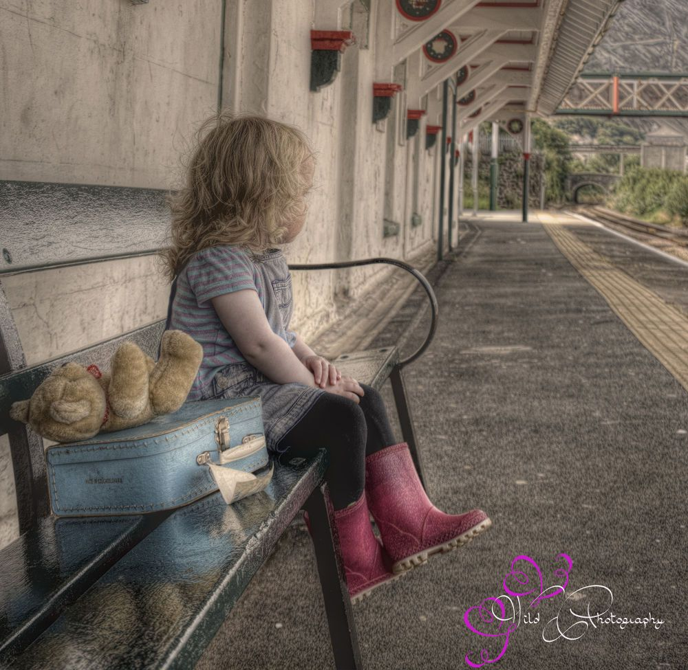Waiting For Daddy by Cheryl Wild  Modelled by Esme  Awarded PAGB HC Ribbon Highly Commended