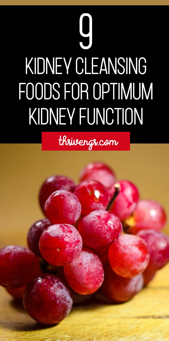 9 Kidney Cleansing Foods For Optimum Kidney Function | ThriveNaija