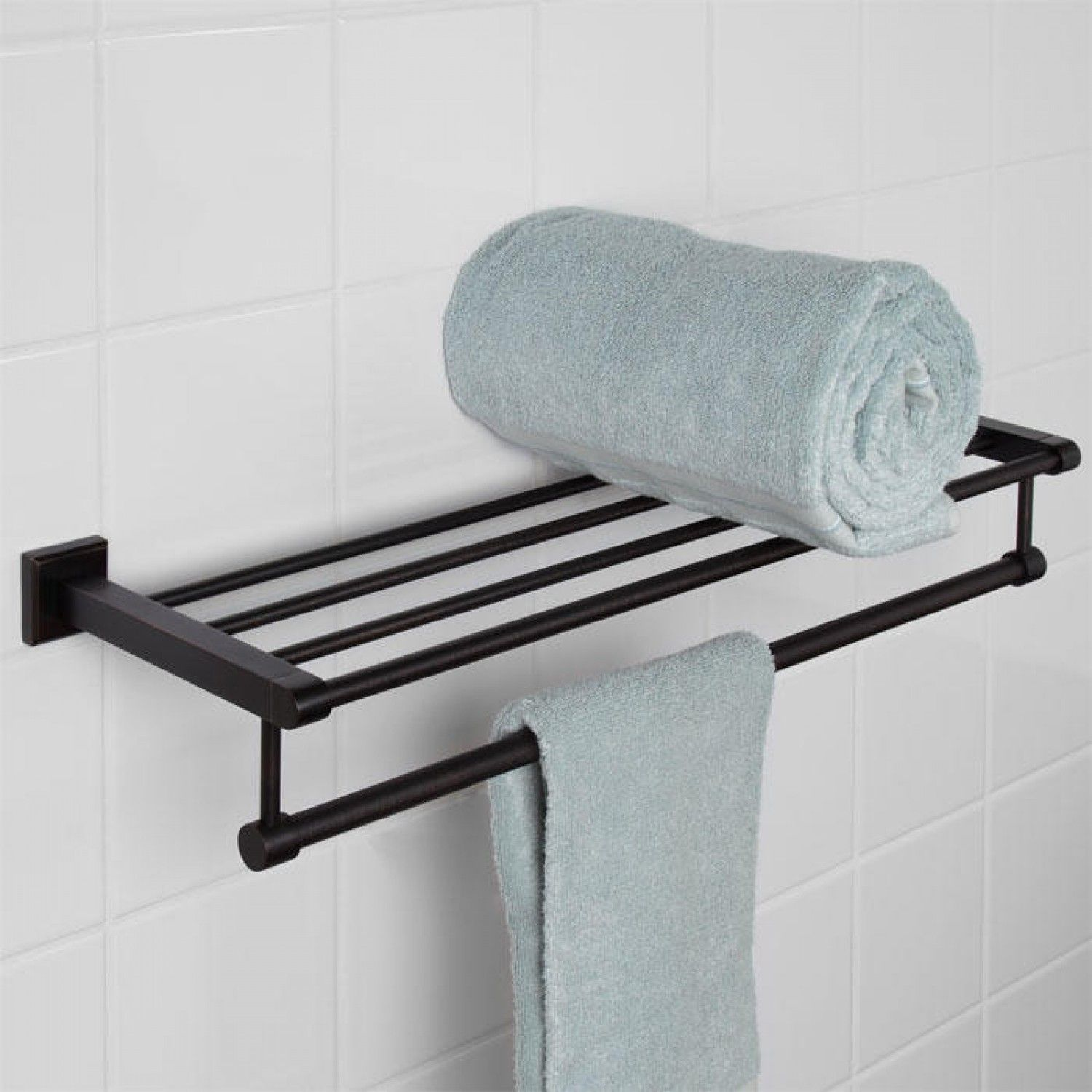 towel rack and bathroom storage | Bathroom Ideas | Pinterest ...